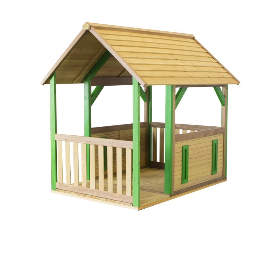 Kinder Gartenhaus Mit Veranda